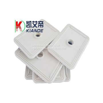 Busbar Insulation Joint Insulator Plate White Color Light Weight With Two Holes