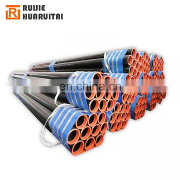 ASTM a106 gr.b seamless carbon steel pipe black corrosion coating seamless steel pipe