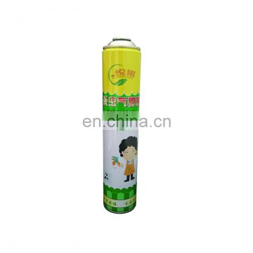 insecticide aerosol empty tin can manufacturer china and aerosol canister Hebei products