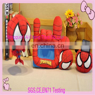 High quality plush spider-man toy