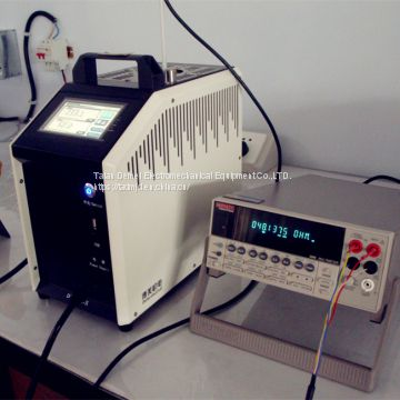 Portable Rapid heating Industrial Precision Dry Block Temperature Calibrator