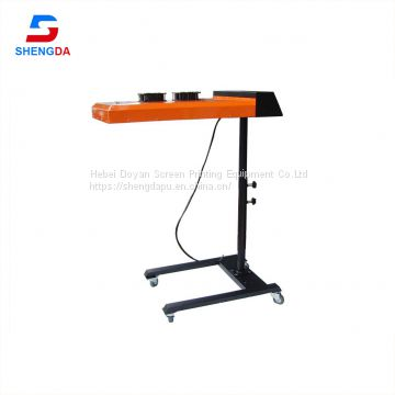 Screen Printing Curing Ink T-shirt Heavy Duty Flash Dryer of machine
