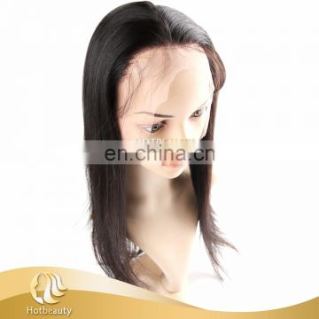 Top sell 100% durable remy human hair 360 frontal lace closure pre-plucked with bundles
