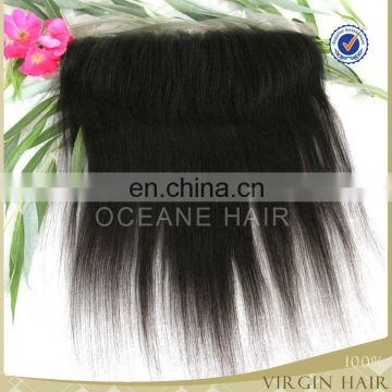 100% cheap human hair full lace frontal closures piece