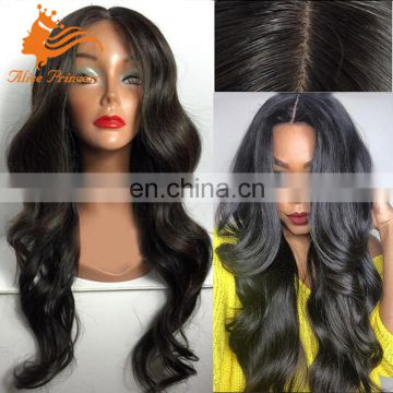 Loose Wave Natural Hairline Peruvian Human Hair Glueless Gull Lace Lolita Wig Wholesale Grade 7A Silk Base Wig Cap