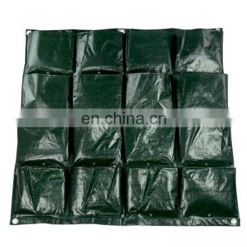China Supplier Garden Plant Grow Hanging Flower Pouches