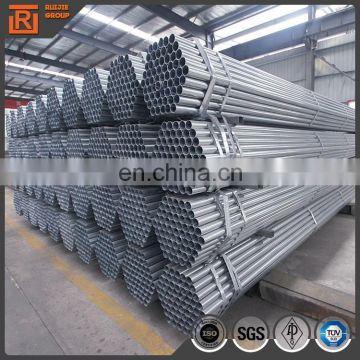 2 inchx1.8mm galvanized steel pipe, greenhouse pre galvanized steel pipe supplier