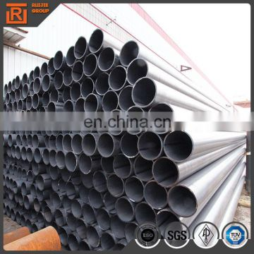 Round welded section hollow steel pipe
