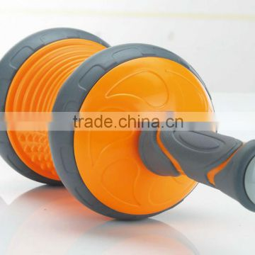 AB exercise easy to use and carry home gym Exercise wheel AB WHEEL Brake Exercise Wheel Point Roller