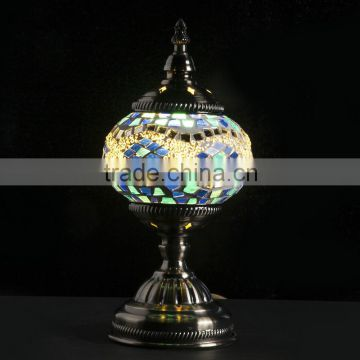 Evershining Lighting Brand YMA401 Glass Handmade Decorative Colorful Night Lamps Turkish Mosaic Lamp for Export                                                                         Quality Choice