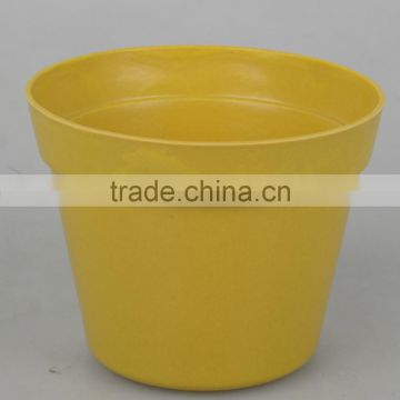 bamboo fiber Material Eco-friendly recycled flower garden pot