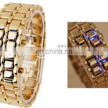 2013 New lava led display watch