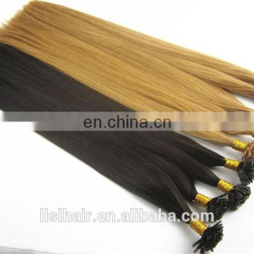 Top Quality Good Feedback Russian Virgin Hair Full End Pre-bonded I Tip U Tip Flat Tip