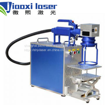 Jiaoxi 30w fiber laser marking machine for metal watches camera auto parts buckles fiber laser printer marker engraver sino-galvo
