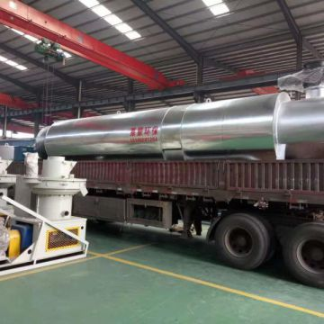 Wood Chip Dryer Auto Drying Machine For Sawdust