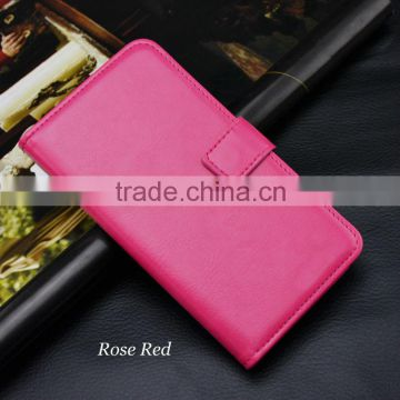 For Nokia Lumia 925 Case Cover , leather wallet case For Nokia Lumia 925 case factory price