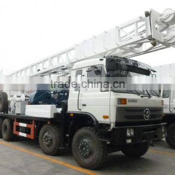 HFT400 truck mounted drilling rig truck mounted and rotary drilling rig