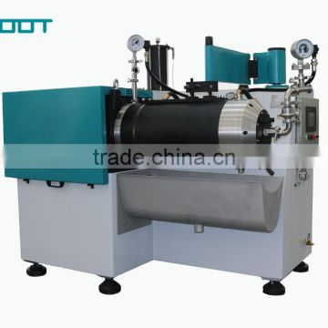 Horizontal bead mill machine for paint, printing ink, high viscous material
