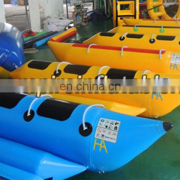 2015 new fashion commercial Inflatable Banana Boat W1002