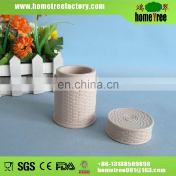 2014 new product round plastic toothpick holder