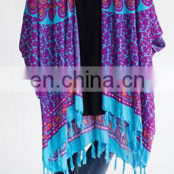 Ocean Escape Boho Kimono for women