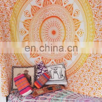 QUEEN Indian OMBRE Mandala Tapestry Hippie Wall Hanging Size Bedspread Ombre Bohemian Decor picnic Blanket Tapestries wall decor
