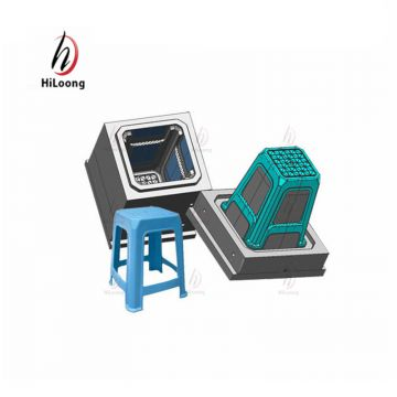 plastic stool chair mould manufacutring taizhou mould factory
