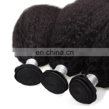 8A Beautiful Brazilian Virgin Hair In Stock Wholesale Top Quality Kinky Straight Brazilian Human Hair