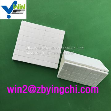 92% platinum catalyst white alumina mosaic tile High-Performance