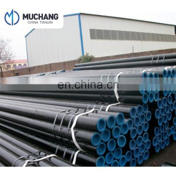 ASTM API 5L X52 oil and gas carbon seamless steel pipe 1/2-24 inch smls steel tube