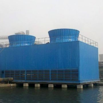 125t Closed Water Cooling Mechanical Draught Cooling Tower Frp Fan Blades Cooling Tower