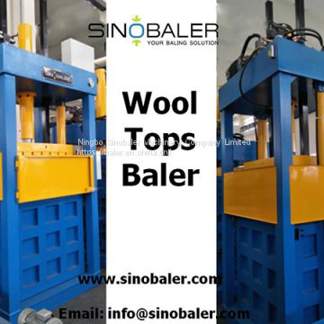 Wool Tops Baler Machine