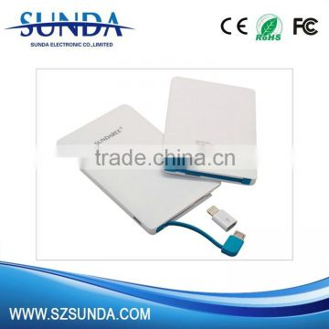 corporate gears,corporate logo gifts slim power banks 2000mah                                                                                                         Supplier's Choice