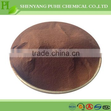 liquid lignosulfonate/MN-1 for refractory material