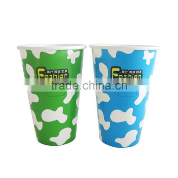 12 oz wholesale biodegradable paper cup cold paper cup