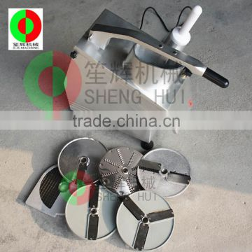 Professional potato slicer machine small output tomato cutter semi-auto Cucumber shred cutter