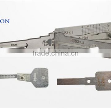 Auto Locksmith Tools LISHI HU83 2-in-1 Auto Pick and Decoder