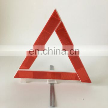 Advertising Road Safety Warning Traffic Reflective Signs Triangle with Emark