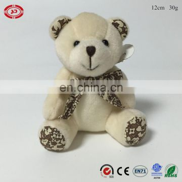 Promotional cheap plush stuffed soft teddy bear toy keychain