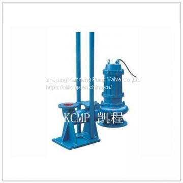 High efficiency submersible sewage transfer pump