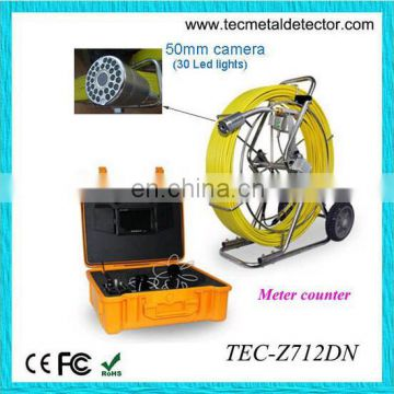 big pipe inspection camera, underwater tube detector TEC-Z712DN