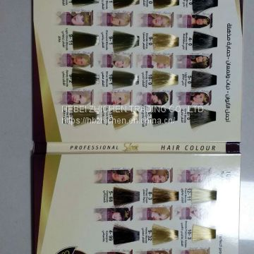 Customized Hair Color Table Manufacture