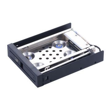 2.5in aluminum SATA anti-shock case hdd adapter hot swap hard drive docking station HDD mobile Rack