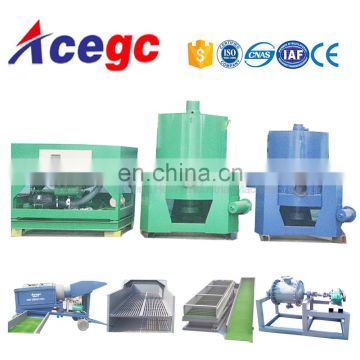 Gold mining equipment automatic discharge knelson centrifugal concentrator table