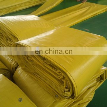 Customized specification heavy duty PE tarpaulin plastic tarps sheet as for roof cover or other coverage purpose