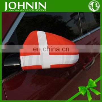 cars accessories flexible custom promotion fabric side mirror covers