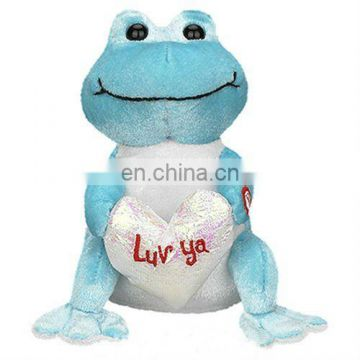 New animal plush toy Frog Toy soft stuffed toy for kids Umay-V0050