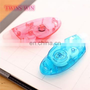 luxury school items of fancy stationery Made In China best quality chidlren hot use colored correction tape