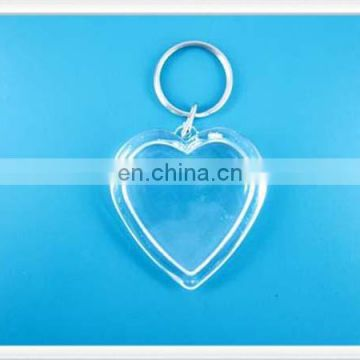 Custom logo plastic acrylic products keychain with custom printing