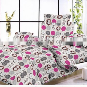 Microfiber Fabric 100%polyester Printed Fabric/brushed Soft Handle Fabric  For Bed Sheets Mattress